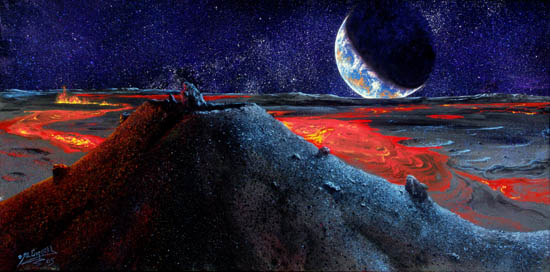 what planets and moons have volcanoes - photo #38